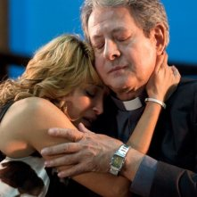 Donatella Finocchiaro e Pino Micol in una scena del film I baci mai dati