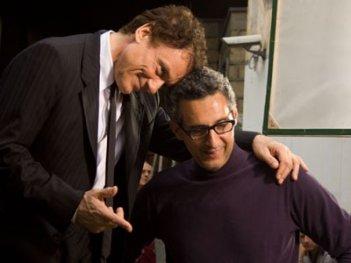 John Turturro e Massimo Ranieri in una scena del film Passione di John Turturro