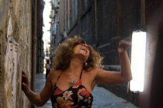 Pietra Montecorvino in un'immagine dal film Passione di John Turturro