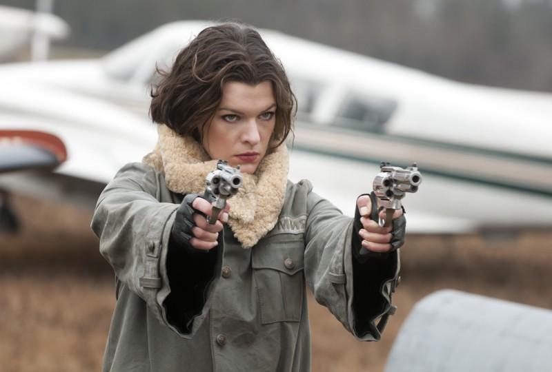 Alice Milla Jovovich Determinata E Pericolosa Nel Film Resident Evil Afterlife 173983