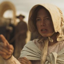 Michelle Williams in una scena del film Meek's Cutoff