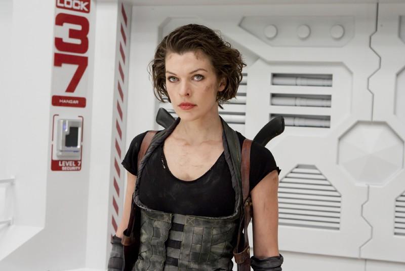 Milla Jovovich E La Protagonista Del Film Resident Evil Afterlife 173985