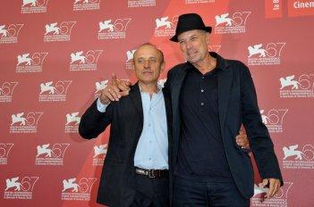 Venezia 2010: Gabriele Salvatores e Giuseppe Cederna alla presentazione di 1960