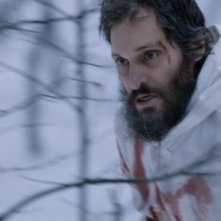 Vincent Gallo in una sequenza drammatica di Essential Killing (2010)