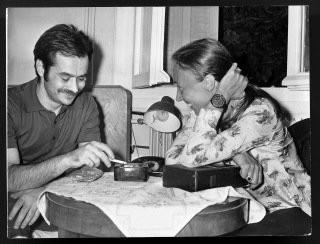 Alekos Panagulis con Oriana Fallaci