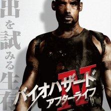 Character poster giapponese per Resident Evil: Afterlife - Boris Kodjoe