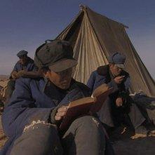 Un'altra scena dal cinese The Ditch, film a sorpresa di Venezia 2010