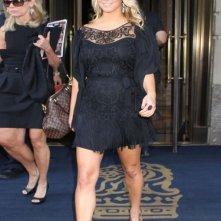 Jessica Simpson fuori dal suo hotel a New York