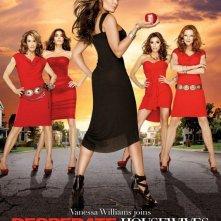 Un poster della stagione 7 di Desperate Housewives