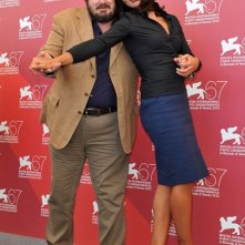 Venezia 2010: Ambra Angiolini e Giuseppe Battiston presentano il film Notizie degli scavi