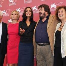 Venezia 2010: Emidio Greco, Giorgia Salari, Ambra Angiolini, Giuseppe Battiston e Annapaola Vellaccio presentano Notizie degli scavi