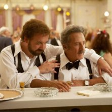 Paul Giamatti e Dustin Hoffman in Barney's Version