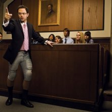 Nick Kroll in una scena della stagione 2 di The League