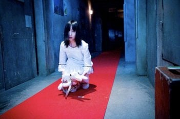Una scena dell'horror The Shock Labyrinth 3D di Takashi Shimizu