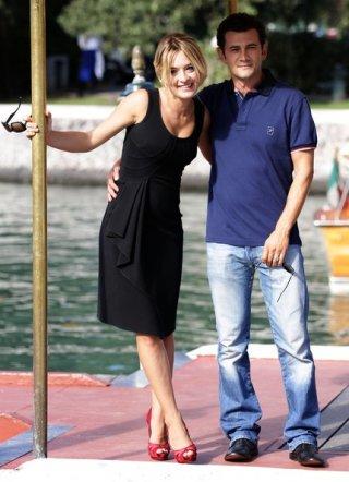 Venezia 2010: Carolina Crescentini accanto a Vinicio Marchioni, come lei protagonista di 20 sigarette