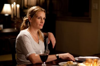 Julia Roberts è la protagonista del film Mangia, prega, ama