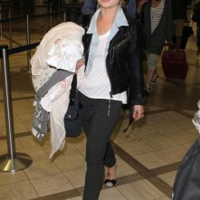 Kelly Osbourne all'aeroporto di Los Angeles