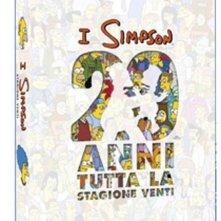 La copertina di I Simpson - Stagione 20 (dvd)