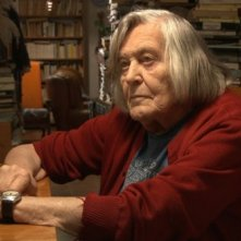 La scienziata Margherita Hack in un'immagine del film Niente Paura