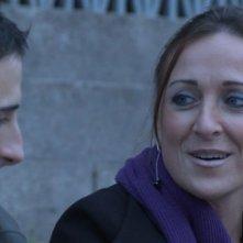 Valeria Rimoldi, una fan di Ligabue, nel film Niente Paura