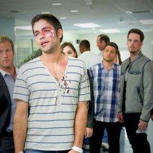 Adrian Grenier, Scott Caan, Sasha Grey, Kevin Dillon, Kevin Connolly e Jerry Ferrara nell'episodio Lose Yourself di Entourage