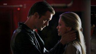 Anna Paquin ed Alexander Skarsgård nell'episodio Fresh Blood di True Blood