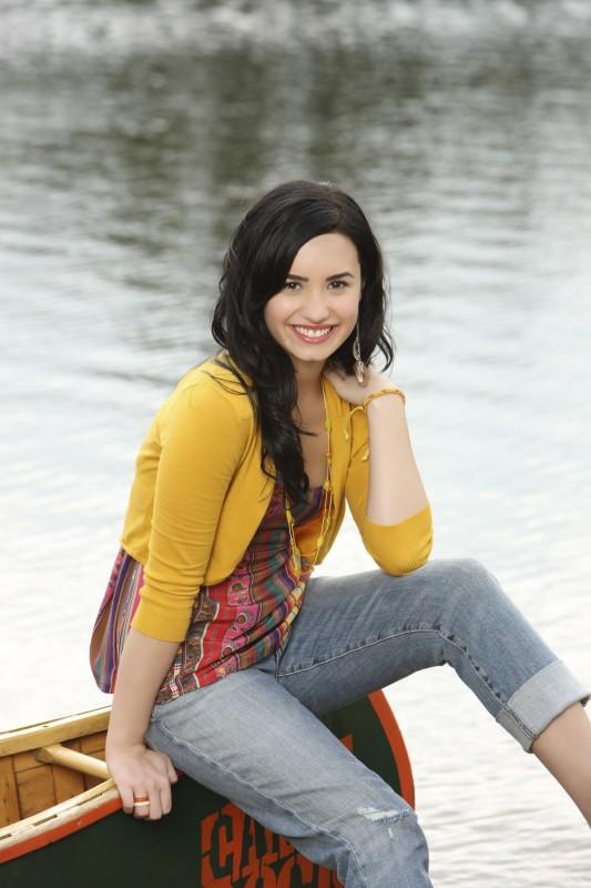 Demi Lovato in una foto promozionale di Camp Rock 2