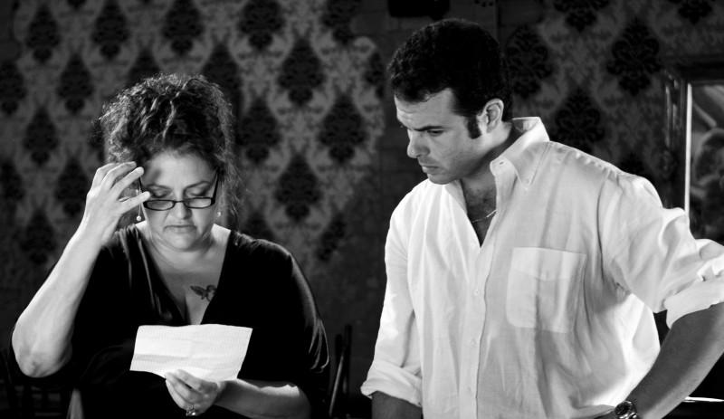 Edoardo De Angelis E Aida Turturro Sul Set Di Mozzarella Stories 174906