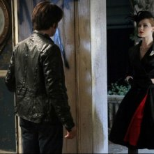 Stephen Moyer ed Evan Rachel Wood nell'episodio Evil Is Going On di True Blood