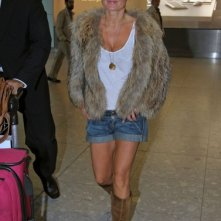 Geri Halliwell dall'aeroporto di Heathrow