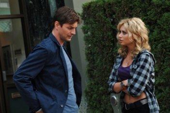 Alyson Michalka e Gale Harold nell'episodio Beale St. After Dark di Hellcats