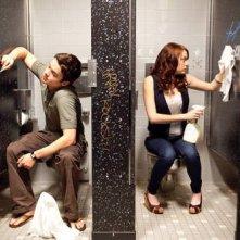 Dan Byrd e Emma Stone in un'immagine di Easy A