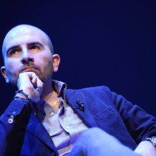 Donato Carrisi a Roma, all\'Auditorium Parco della Musica per \'Come si scrive un giallo\'. Fotografie di Musacchio & Ianniello.