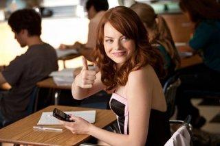 Emma Stone in un'immagine di Easy A