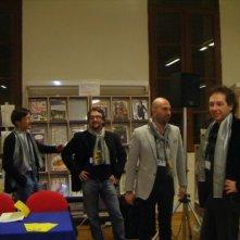 Patrizio Guendalini, Paolo Roversi, Donato Carrisi e Massimo Smith, al Nebbia Gialla \'09