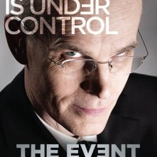 Un poster della serie TV The Event con lo slogan 'Everything is under Control'