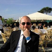 Donato Carrisi ai Giardini del Quirinale (giugno 2010)