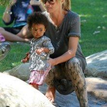 Heidi Klum e i figli passano un pomeriggio al Canyon Coldwater Park di Beverly Hills