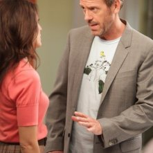 Hugh Laurie e Lisa Edelstein nell'episodio Selfish di Dr House