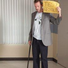 Hugh Laurie in una scena dell'episodio Selfish di Dr House