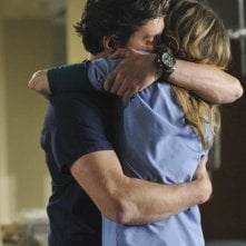 Patrick Dempsey ed Ellen Pompeo nell'episodio Shock to the System di Grey's Anatomy