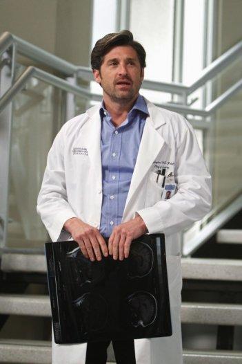 Patrick Dempsey nell'episodio With You I'm Born Again di Grey's Anatomy