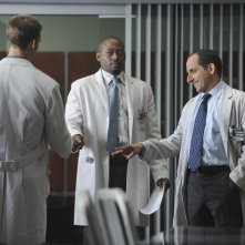 Peter Jacobson ed Omar Epps nell'episodio Now What? di Dr House