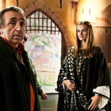 Silvio Orlando e Kasia Smutniak in una scena del film La passione