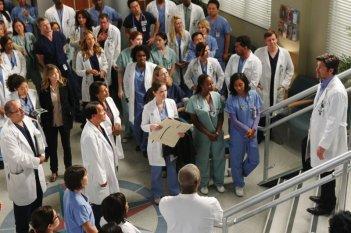 Un momento dell'episodio With You I'm Born Again di Grey's Anatomy