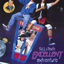 La locandina di Bill & Ted's Excellent Adventure