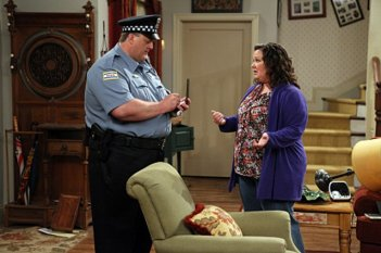 Billy Gardell e Melissa McCarthy nel pilot di Mike and Molly