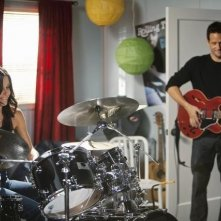 Courteney Cox e Josh Hopkins nell'episodio Makin' Some Noise di Cougar Town
