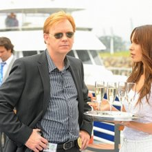 David Caruso in una scena dell'episodio Sudden Death di CSI Miami