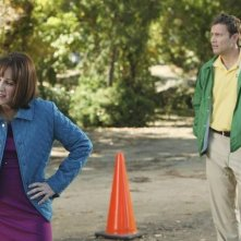 Greg Cromer e Patricia Heaton nell'episodio Homecoming di The Middle